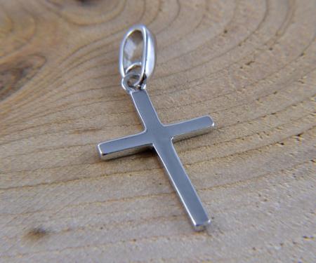 Schmuckanhänger Echt Silber Kreuz