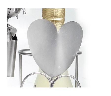 Flaschenständer Liebespaar