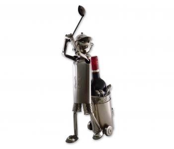 Flaschenständer Golfer