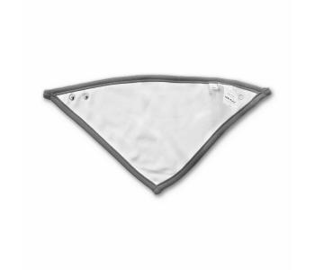Baby Dreieckstuch - beidseitig tragbar (Grau/Weiß)