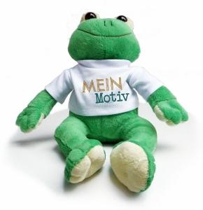 Kuscheltier Frosch Paddy