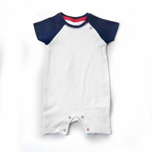 Baby Body Baseball Style - Marineblau